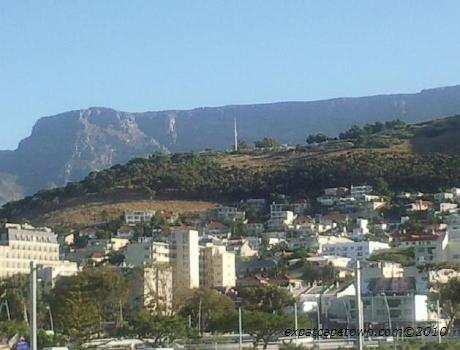 Green Point  as seen from the Stadium