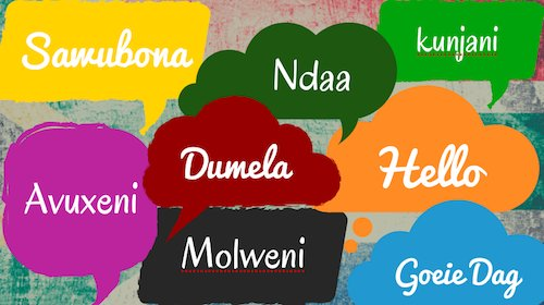 how to say hello in all african languages