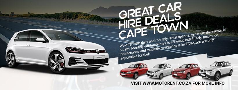 Motorent Cape Town Car Rental