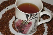 Rooibos Tea Leaves and Redbush Drink