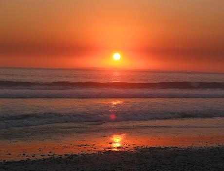 Stunning Sunset Beach North of Cape Town