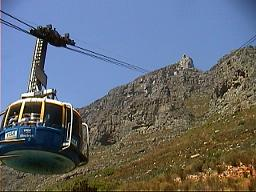 Take the Cable Car  up Cape Town Table Mountain