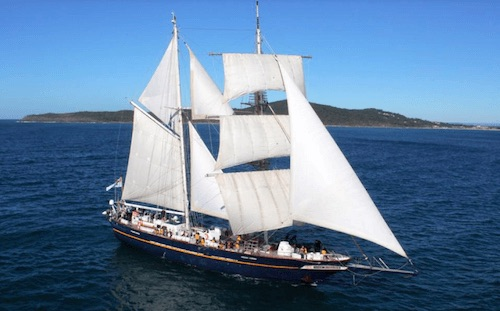Young Endeavour will call in Cape Town November 2015