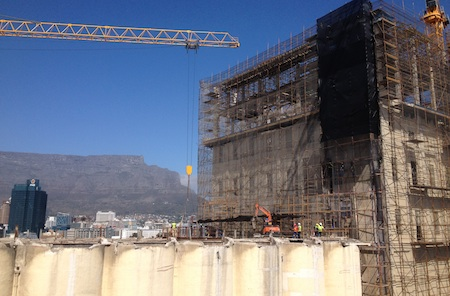 Zeitz Museum in Construction Cape Town