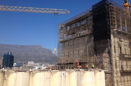 Zeitz Museum in Construction Cape Town